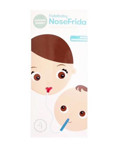 NOSEFRIDA Aspirator do usuwania wydzieliny z nosa - 1 szt. - cena, opinie, zastosowanie - Apteka internetowa Melissa