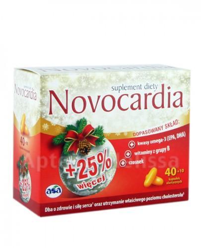 NOVOCARDIA - 40 kaps. + 10 kaps