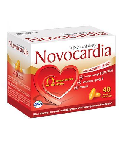 NOVOCARDIA - 40 kaps.