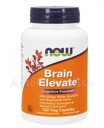 NOW FOODS Brain elevate - 120 kaps. - Apteka internetowa Melissa