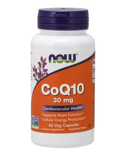 NOW FOODS CO Q10 30 mg - 60 kaps. - Apteka internetowa Melissa