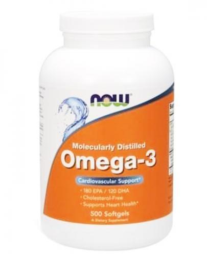 NOW FOODS Omega-3 - 500 kaps.
