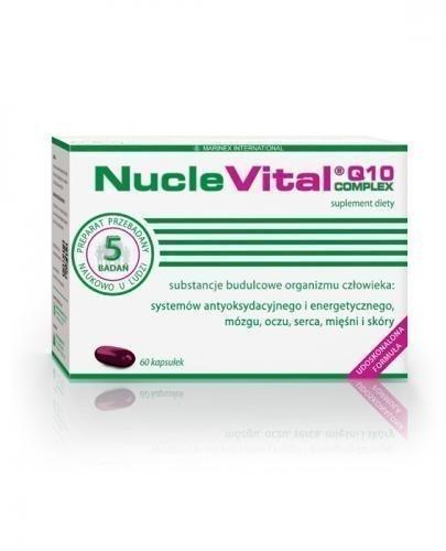 NUCLE VITAL Q10 COMPLEX - 60 kaps. - Apteka internetowa Melissa