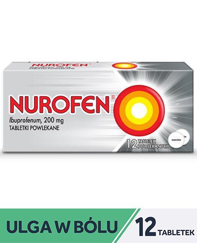 NUROFEN - 12 tabl. Lek przeciwbólowy - cena, opinie, ulotka - Apteka internetowa Melissa