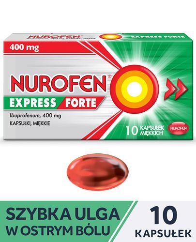 NUROFEN EXPRESS FORTE - 10 kaps. - Apteka internetowa Melissa