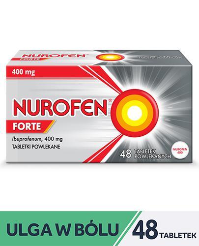 NUROFEN FORTE - 48 tabl. Zwalcza uciążliwy ból. - Apteka internetowa Melissa