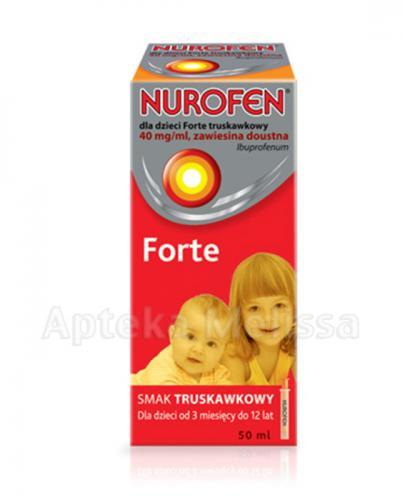 NUROFEN FORTE Syrop dla dzieci zawiesina doustna - 50 ml - Apteka internetowa Melissa