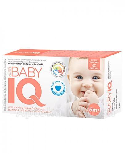Nutri Baby IQ +6m - 30 kaps. twist-off - Apteka internetowa Melissa