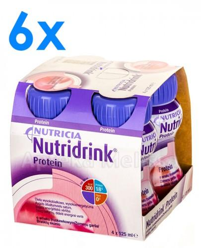 NUTRIDRINK PROTEIN O smaku truskawkowym - 24 x 125 ml - Apteka internetowa Melissa