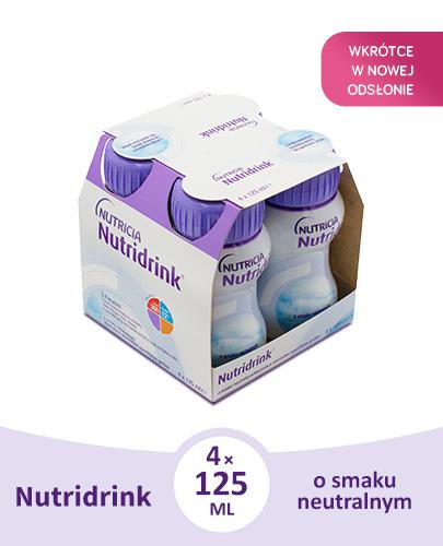 NUTRIDRINK O smaku neutralnym - 4 x 125 ml