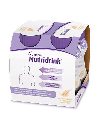 NUTRIDRINK O smaku waniliowym - 4 x 125 ml. Żywienie medyczne. - Drogeria Melissa