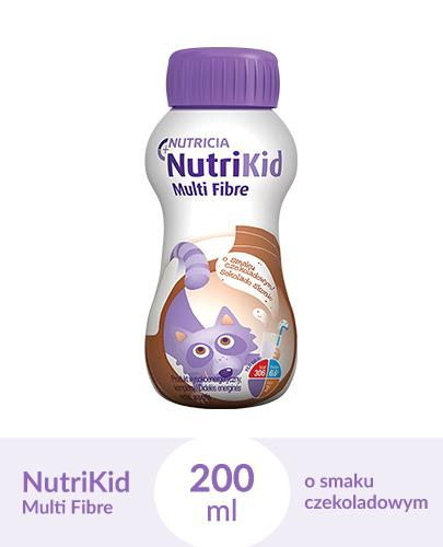 NUTRIKID MULTI FIBRE Smak czekoladowy - 200 ml - Apteka internetowa Melissa