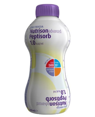 NUTRISON ADVANCED PEPTISORB 1.0 kcal/ml - 500 ml Data ważności 2020.09.20 - Apteka internetowa Melissa