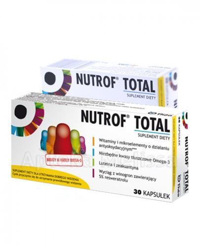 NUTROF TOTAL - 30 kaps. Data ważności: 2016.11.30 + 15 kaps. GRATIS!