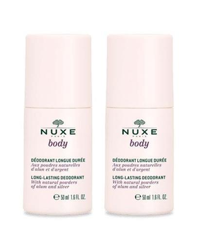 NUXE BODY Mineralny dezodorant o długotrwałym działaniu roll-on - 2 x 50 ml