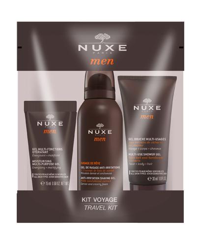 NUXE MEN Zestaw podróżny 3 miniproduktów - 1 zest. - Apteka internetowa Melissa