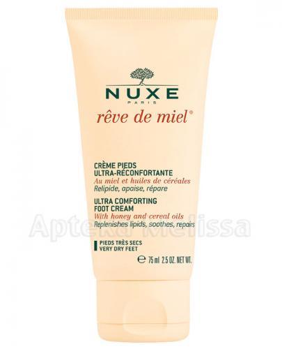 NUXE REVE DE MIEL Ultrakomfortowy krem do stóp - 75 ml  - Apteka internetowa Melissa