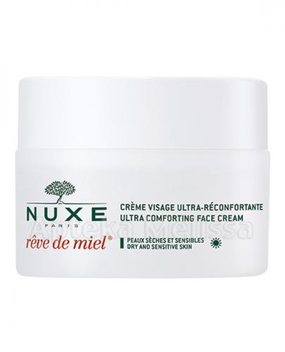NUXE REVE DE MIEL Ultrakomfortowy krem do twarzy na dzień - 50 ml  - Apteka internetowa Melissa