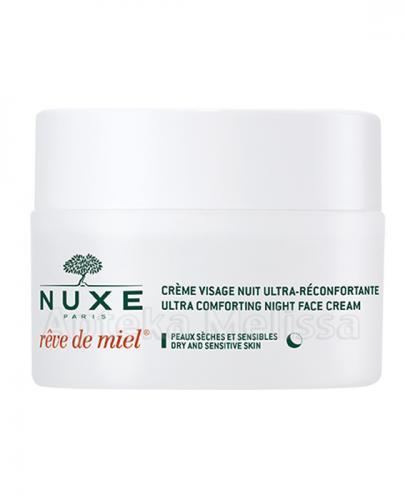 NUXE REVE DE MIEL Ultrakomfortowy krem do twarzy na noc - 50 ml   - Apteka internetowa Melissa