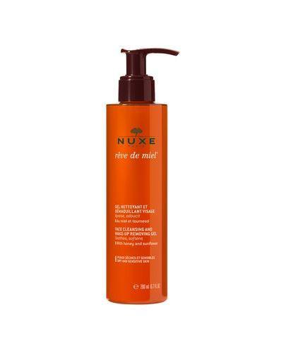 NUXE REVE DE MIEL Żel do oczyszczania i demakijażu twarzy - 200 ml