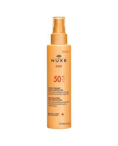 NUXE SUN SPF50 Mleczko do opalania twarzy i ciała - 150 ml