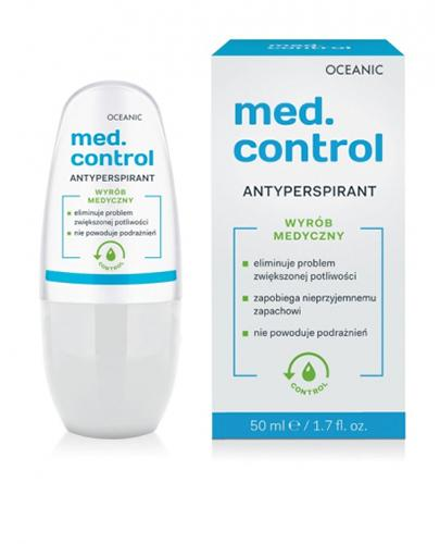 OCEANIC MED. CONTROL Antyperspirant - 50 ml - Apteka internetowa Melissa