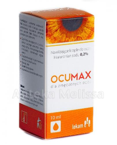 OCUMAX 0,2% Krople do oczu - 10 ml - Apteka internetowa Melissa