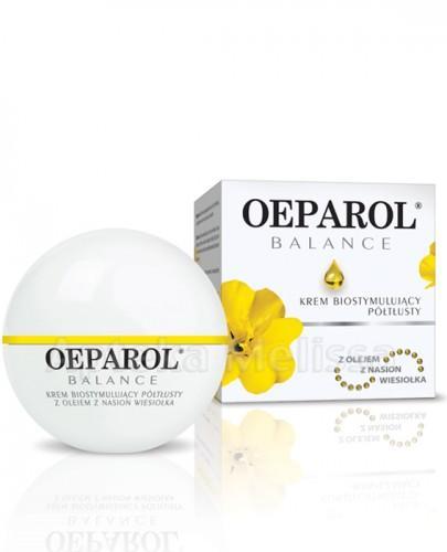 OEPAROL BALANCE Krem biostymulujący półtłusty z olejem z nasion wiesiołka - 50 ml - Apteka internetowa Melissa