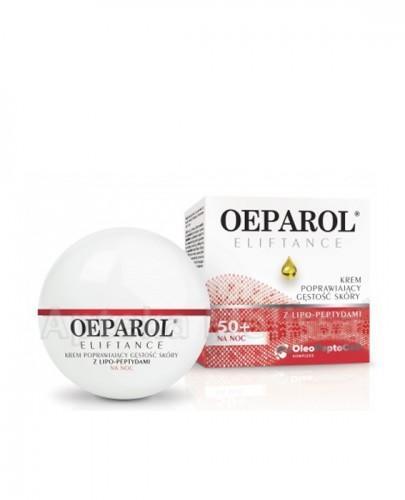 OEPAROL ELIFTANCE 50+ Krem poprawiający gęstość skóry na noc - 50 ml  - Apteka internetowa Melissa
