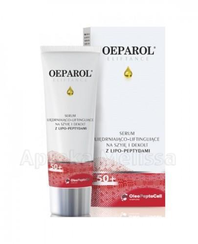 OEPAROL ELIFTANCE 50+ Serum ujędrniająco-liftingujące na szyję i dekolt z lipo-peptydami - 75 ml - Apteka internetowa Melissa