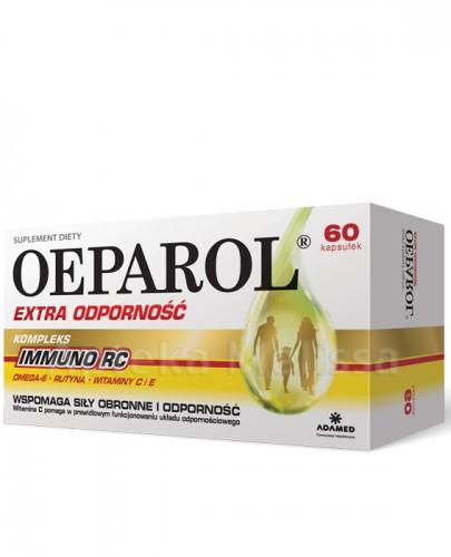 OEPAROL EXTRA ODPORNOŚĆ - 60 kaps.  - Apteka internetowa Melissa