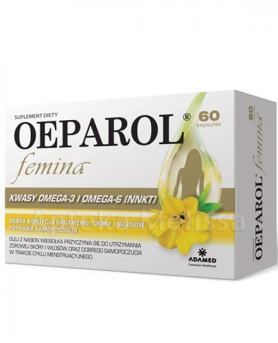 OEPAROL FEMINA - 60 kaps  - Apteka internetowa Melissa