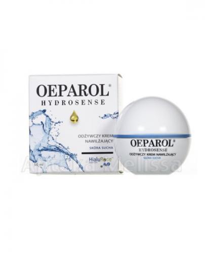 OEPAROL HYDROSENSE Odżywczy krem nawilżający - 50 ml  - Apteka internetowa Melissa