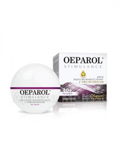 OEPAROL STIMULANCE 40+ Krem Przeciwzmarszczkowy skóra sucha na dzień - 50 ml  - Apteka internetowa Melissa