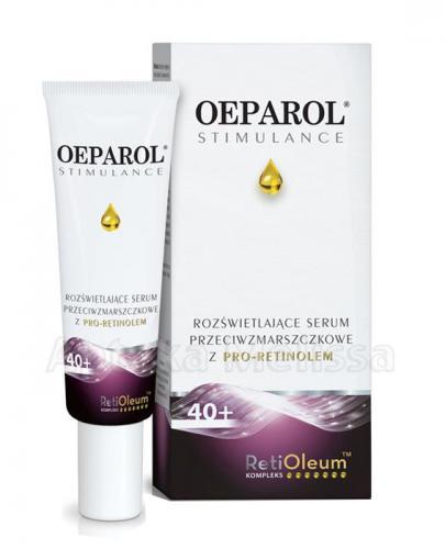 OEPAROL STIMULANCE 40+ Rozświetlające Serum Przeciwzmarszczkowe - 30 ml  - Apteka internetowa Melissa