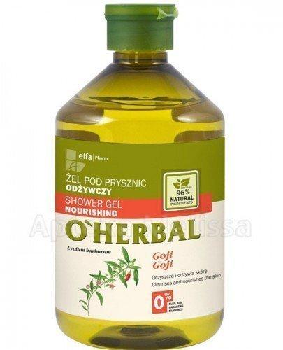 O`HERBAL Żel odżywczy pod prysznic z ekstraktem goji - 500 ml - Apteka internetowa Melissa
