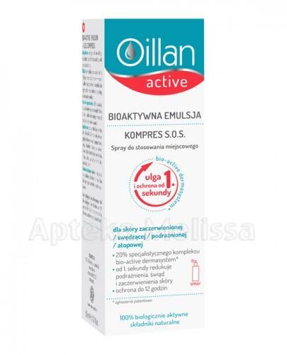 Oillan Active bioaktywna emulsja kompres S.O.S spray - Apteka internetowa Melissa