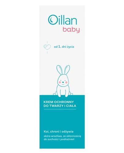 OILLAN BABY Krem pielęgnacyjny do twarzy i ciała od pierwszych dni życia - 75 ml - Drogeria Melissa