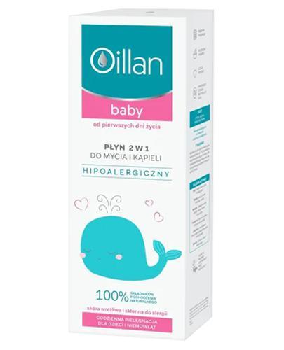 OILLAN BABY Płyn do mycia i kąpieli 2w1 - 400 ml - Drogeria Melissa