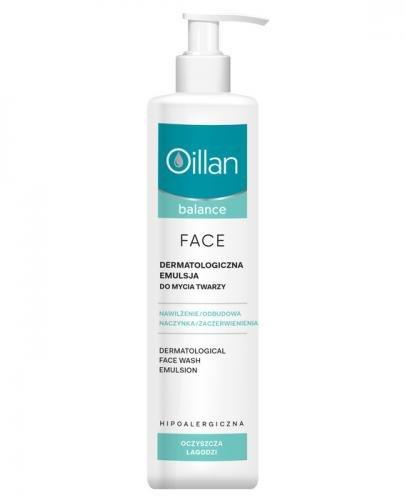 OILLAN BALANCE FACE Dermatologiczna emulsja do mycia twarzy - 250 ml