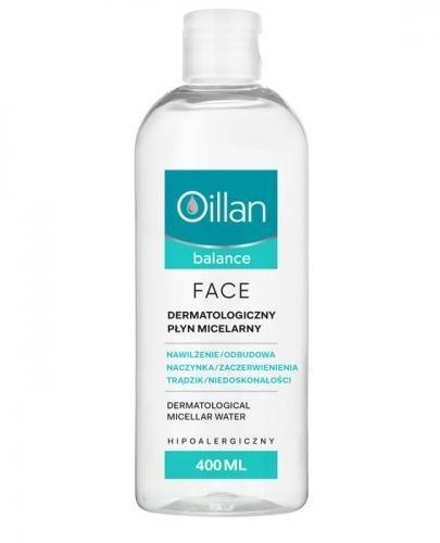 OILLAN BALANCE FACE Dermatologiczny płyn micelarny - 400 ml