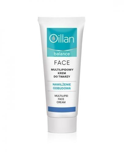 OILLAN BALANCE Multi-lipidowy krem do twarzy - 40 ml - Drogeria Melissa