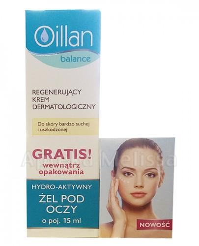 OILLAN BALANCE Regenerujący krem dermatologiczny - 40 ml + Żel pod oczy - 15 ml  - Apteka internetowa Melissa