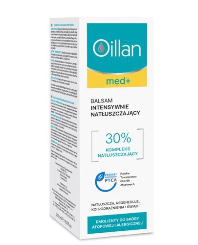OILLAN MED+ Balsam intensywnie natłuszczający - 200 ml - cena, opinie, właściwości - Drogeria Melissa
