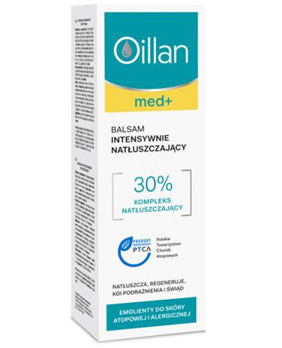 OILLAN Balsam intensywnie natłuszczający - 400 ml - Apteka internetowa Melissa