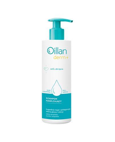 OILLAN MED+ Kojąco nawilżający szampon dermatologiczny - 150 ml - Apteka internetowa Melissa