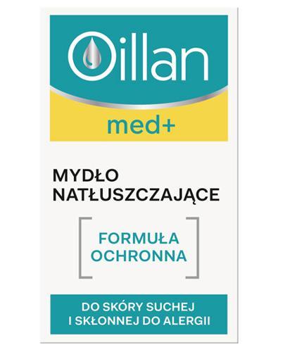 OILLAN MED+ Mydło natłuszczające - 100 g - Drogeria Melissa