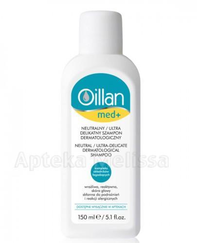 OILLAN MED+ Neutralny ultra delikatny szampon dermatologiczny - 150 ml - Apteka internetowa Melissa
