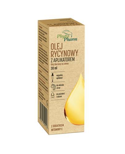 Olej rycynowy z aplikatorem - 30 ml Na włosy i paznokcie - cena, opinie, właściwości  - Apteka internetowa Melissa