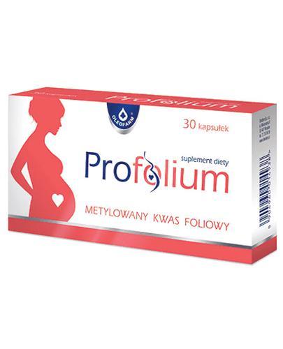 OLEOFARM Profolium - 30 kaps. - krew, homocysteina - cena, opinie, wskazania - Drogeria Melissa